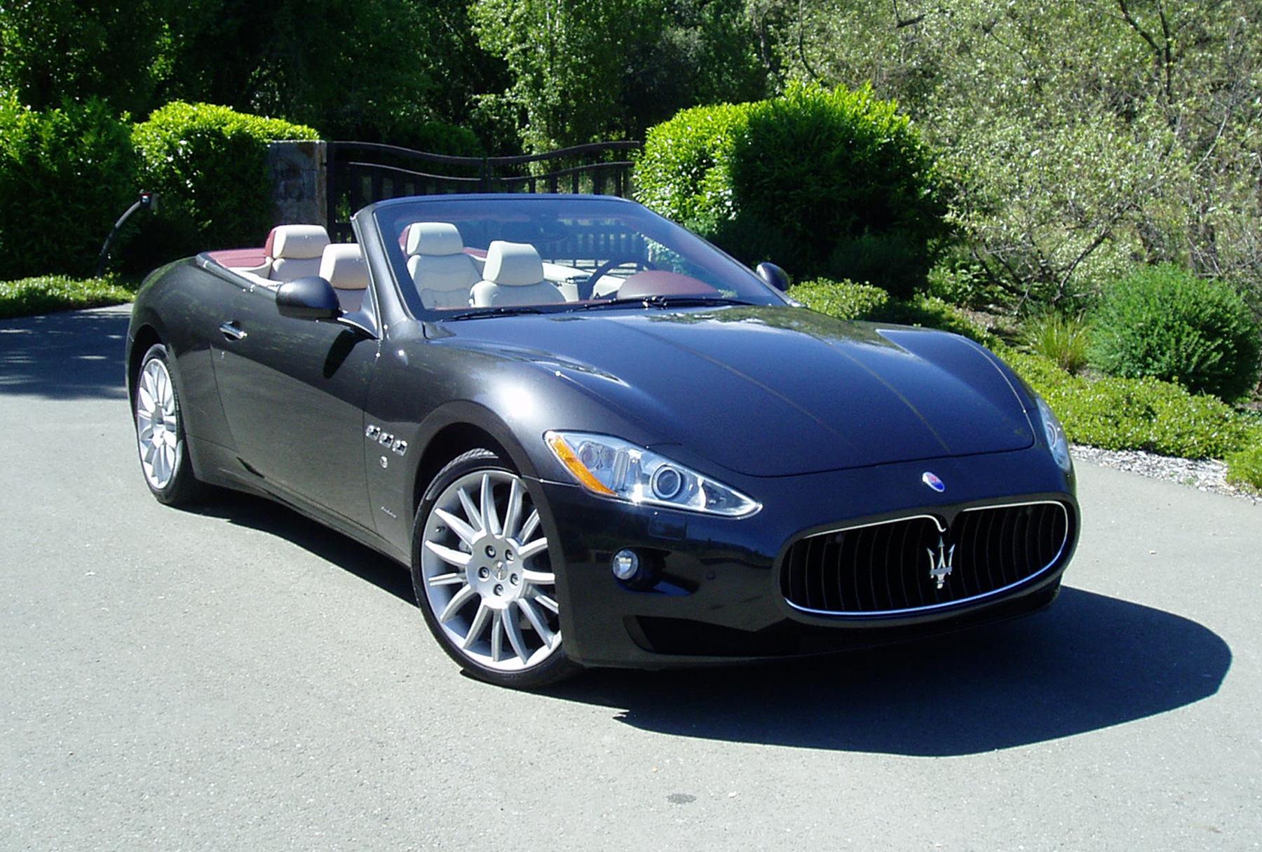 test drive 2010 maserati gran turismo our auto expert. Black Bedroom Furniture Sets. Home Design Ideas