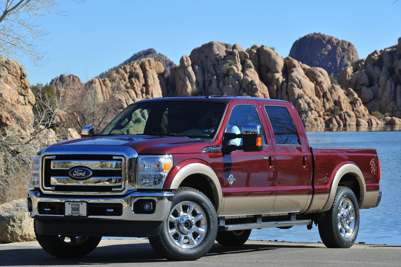 2011 Ford Super Duty Power Stroke Diesel Engine
