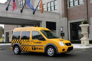 Ford Transit Connect Taxis Hit the Streets