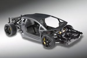Lamborghini Unveils New V12 Rolling Chassis