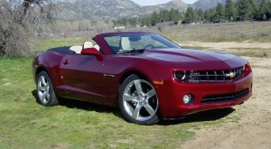 Test Drive: 2011 Chevrolet Camaro Convertible