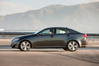 Side View Lexus IS 250