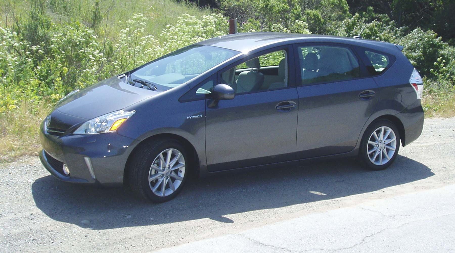 Test Drive 2012 Toyota Prius V Wagon Our Auto Expert