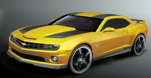 Transforming the Bumblebee Camaro