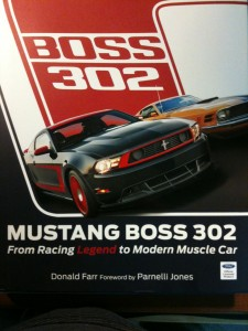 Books:  Mustang Boss 302 – From Racing Legend to Modern Muscle Car