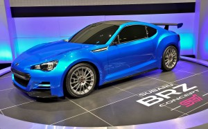 Exposed – the Subaru BRZ Concept -STI