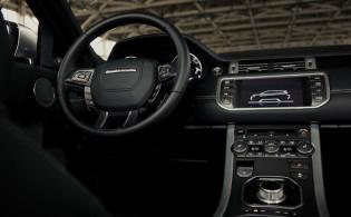 2012 Range Rover Evoque - Dashboard Controls