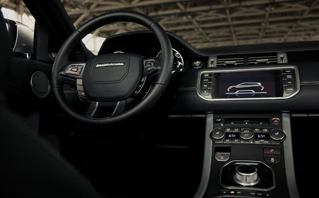 2012 Range Rover Evoque - Dashboard Controls