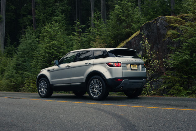 2012 Range Rover Evoque - Side