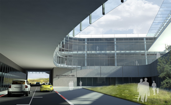 New_Porsche Headquarters_
