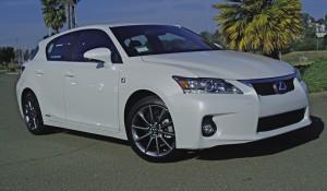 Test Drive: 2012 Lexus CT 200h Premium F-Sport