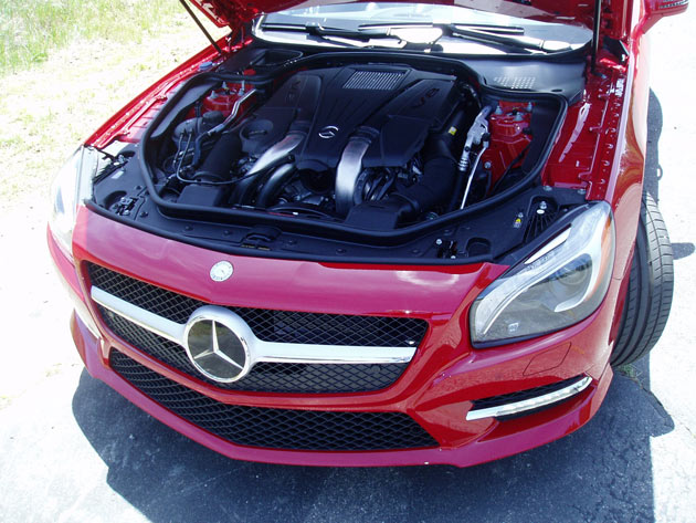 2013 Mercedes-Benz-SL550 - Engine Compartment