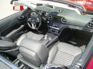 2013 Mercedes-Benz-SL550 - Interior
