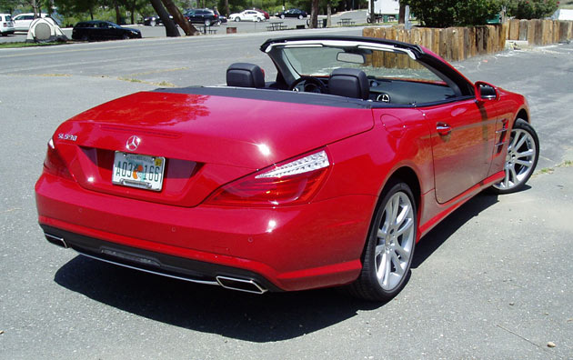 2013 Mercedes-Benz SL550-Rear