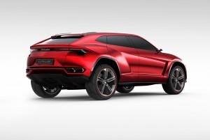 Lamborghini Shows SUV Concept