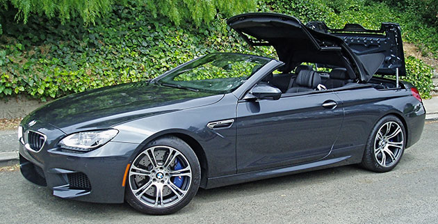 BMW M6 Convertible Top