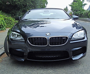 2012 BMW M6 - Front