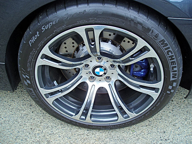 2012 BMW M6 - Wheels