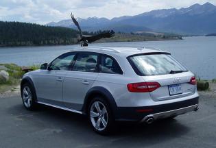 2013 Audi AllRoad - Back