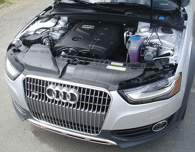 2013 Audi AllRoad - Engine