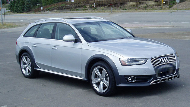 2013 Audi AllRoad - Front