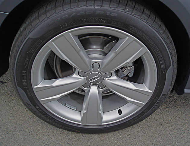 2013 Audi AllRoad - Wheels