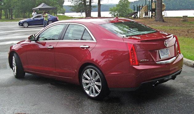 2013 Cadillac ATS - Back