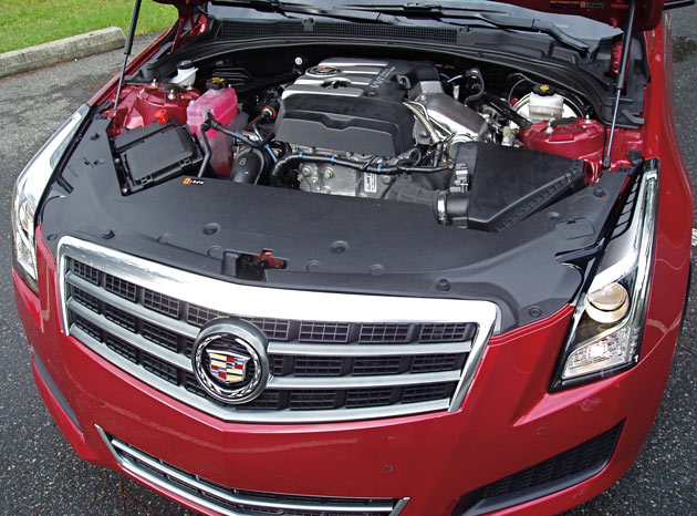 2013 Cadillac ATS - Engine Compartment
