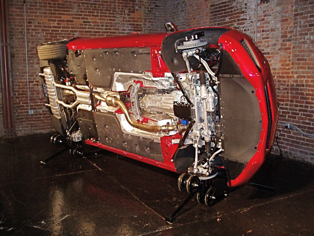 2013 Cadillac ATS - From Bottom