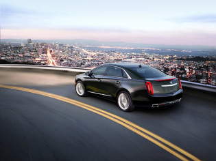 2013 Cadillac XTS - On the road