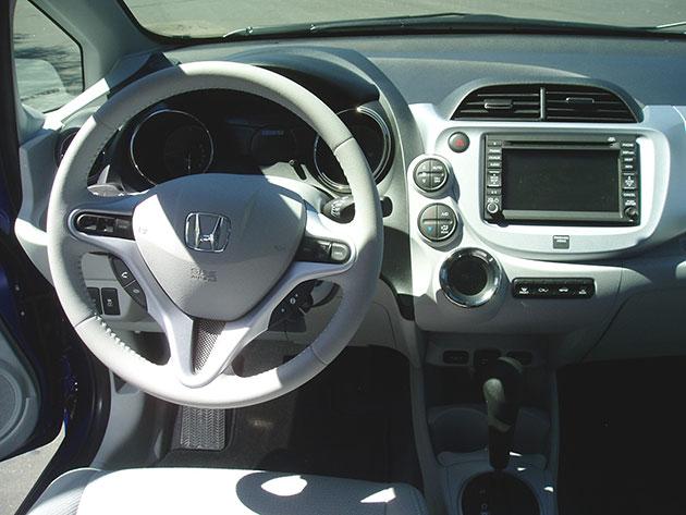 Honda Fit EV Dashboard