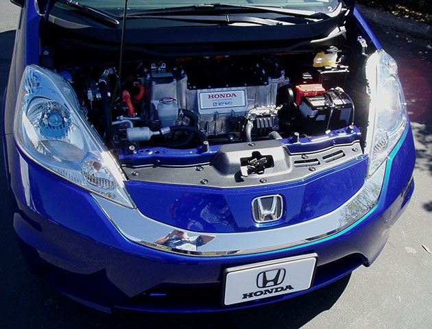 2013 Honda Fit EV - Batteries