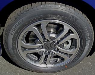 2013 Honda Fit Wheels