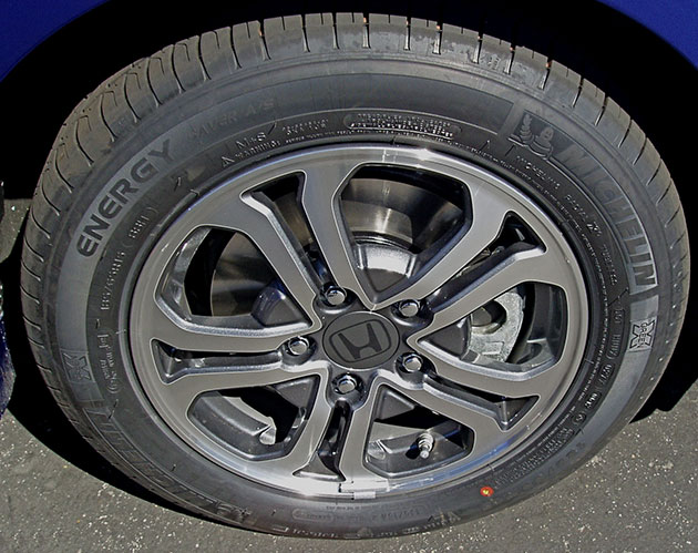 2013 Honda Fit Wheels