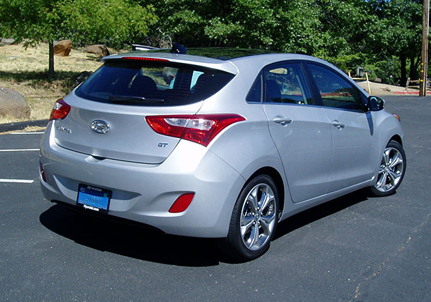 2013 Hyundai Elantra GT Backside