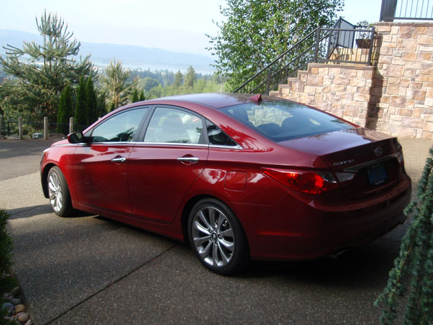 2013 Hyundai Sonata - Back