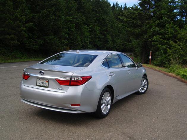 2013 Lexus ES  - From behind
