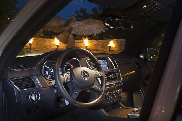 2013 Mercedes-Benz GL - Dashboard