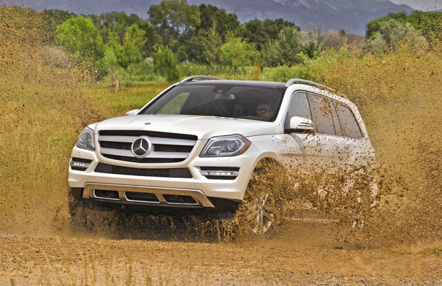 2013 Mercedes-Benz GL - Off Road