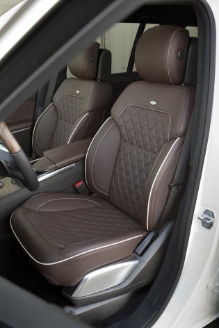 2013 Mercedes Benz GL - Seats