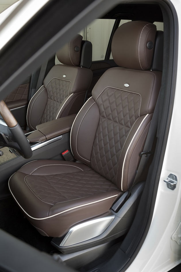 2013 Mercedes-Benz GL - Seats