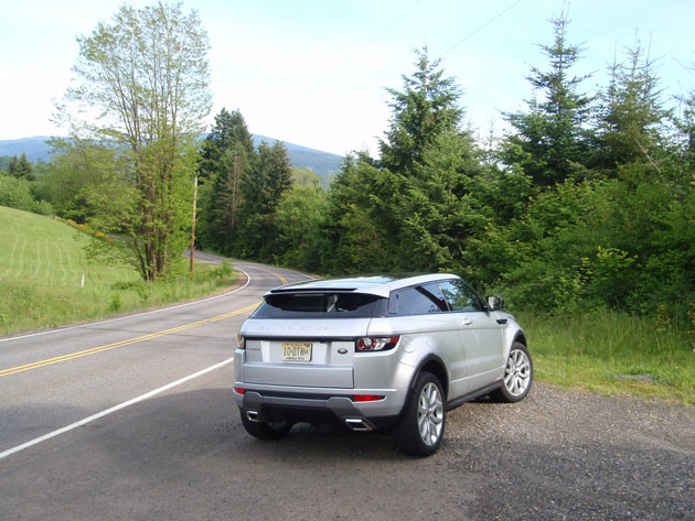 2013-Range Rover Evoque - Back