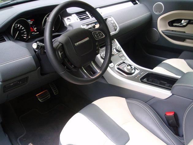 2013-Range Rover Evoque - Interior