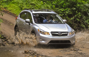 Offroad with the 2013 Subaru Crosstek