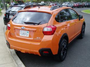 2013 Subaru XV Crosstrek - Back