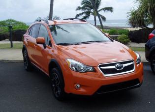 2013 Subaru XV Crosstrek - Front