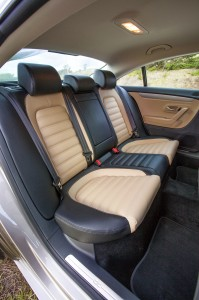 2013 Volkswagen CC - Back Seats