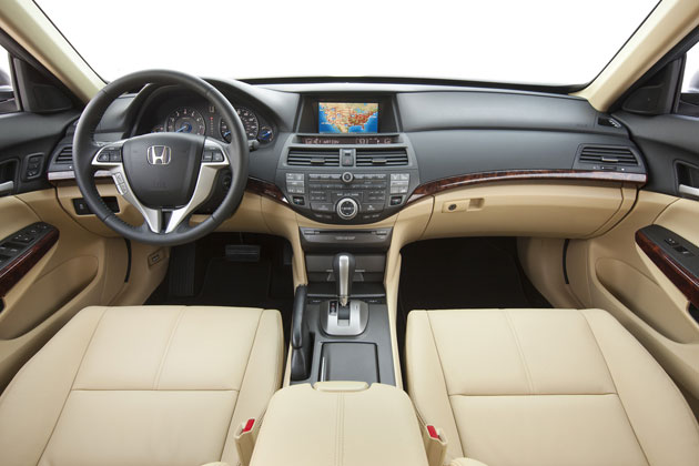 2012 Honda Crosstour - interior