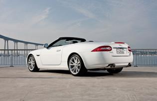 2012 Jaguar XK-R - Side