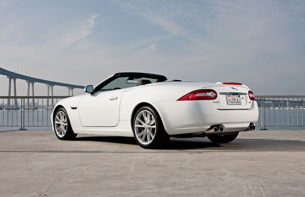 2012 Jaguar XKR - Side
